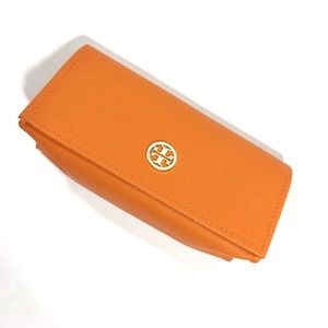 Tory Burch Orange Sunglass Case